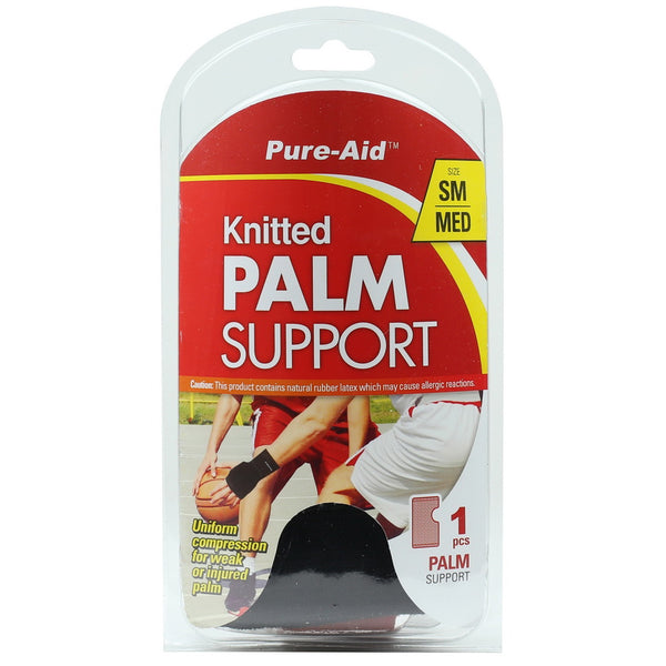 Pure-Aid Knitted Palm Support (SM-MED), 1ct