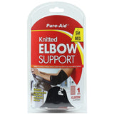 Pure-Aid Knitted Elbow Support Brace (Size S-M), 1ct  (Compare to ACE)