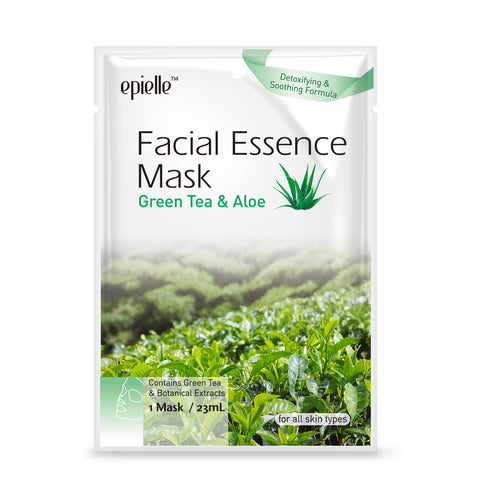 epielle®Aloe & Green Tea Hydrating Mask, 1ct
