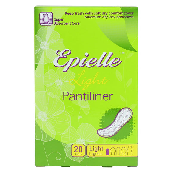 epielle Feminine Light Pantiliner, 20ct
