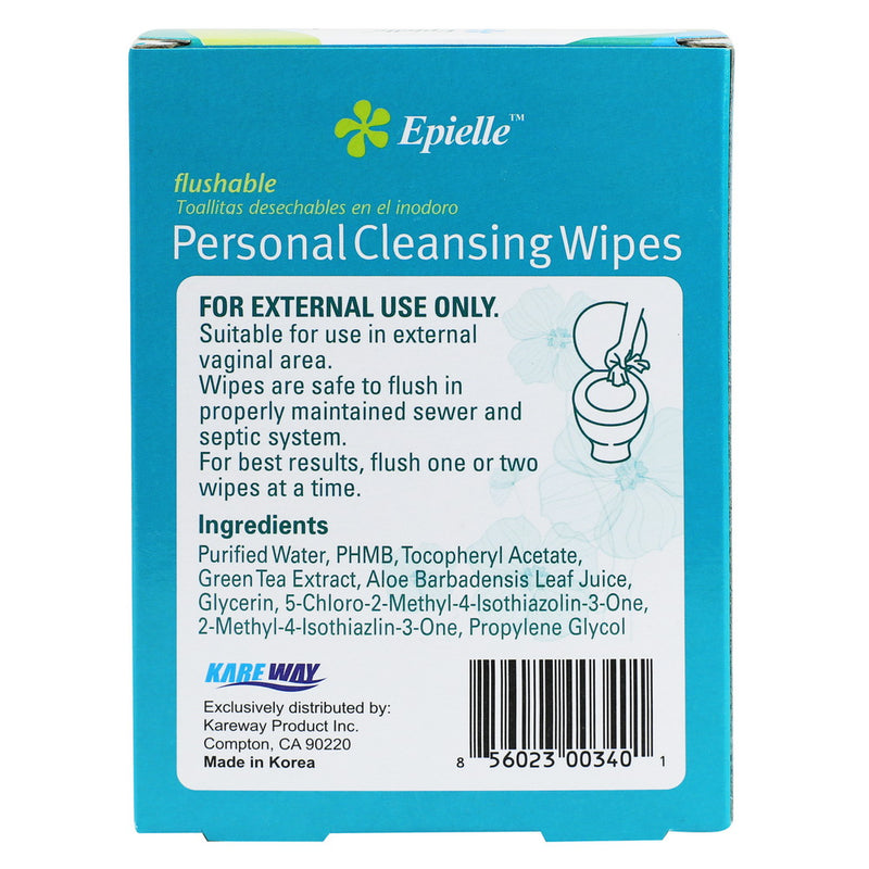 epielle®Personal Cleansing Individual Wipes, 20ct