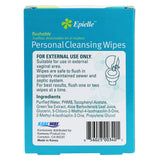 epielle®Personal Cleansing Flushable Individual Wipes, 20ct
