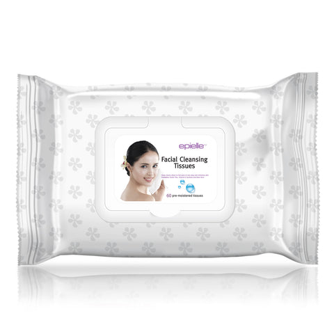epielle®Argan Oil Facial Cleansing Tissues, 30ct