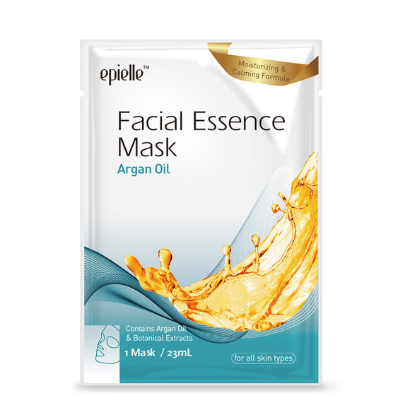 epielle®Argan Oil Facial Essence Mask, 1ct