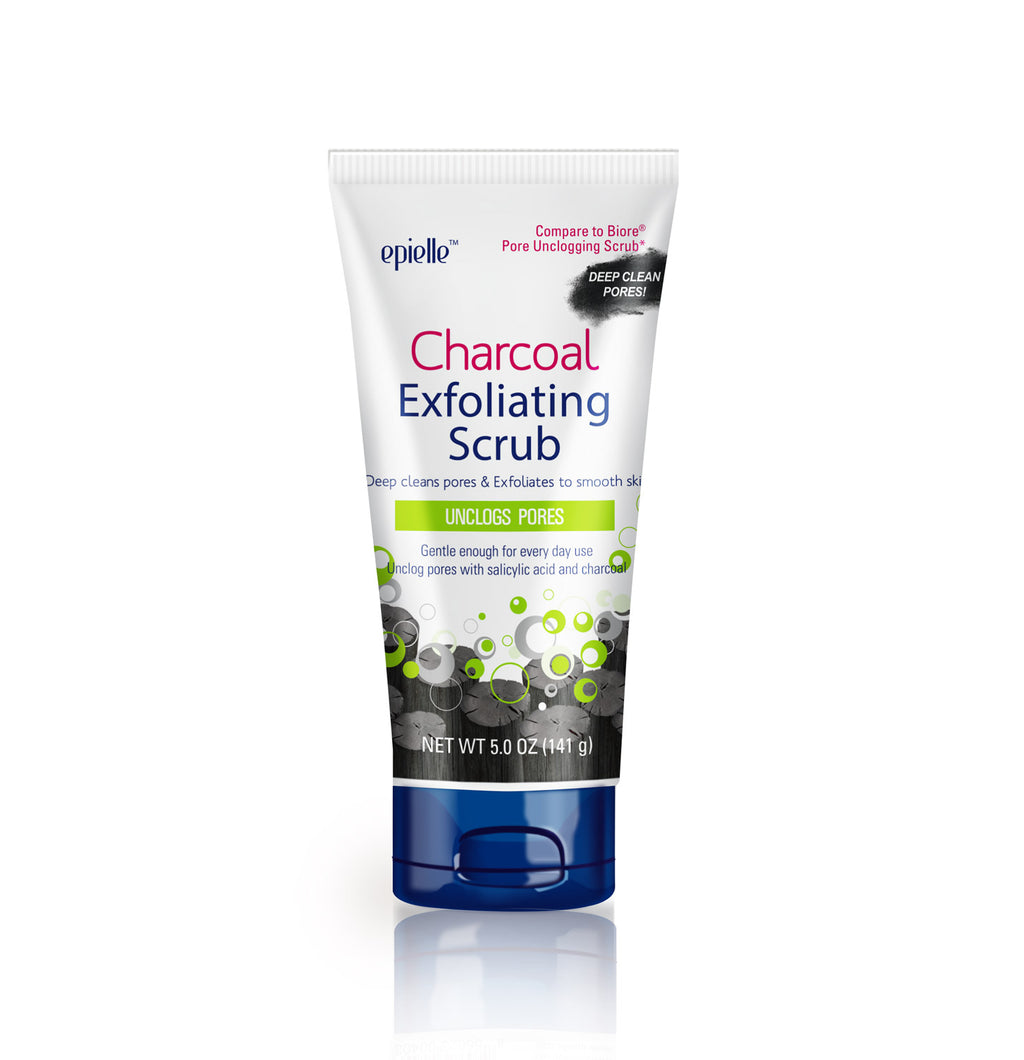 epielle®Charcoal Exfoliating Scrub, 1ct  (Compare to Biore)