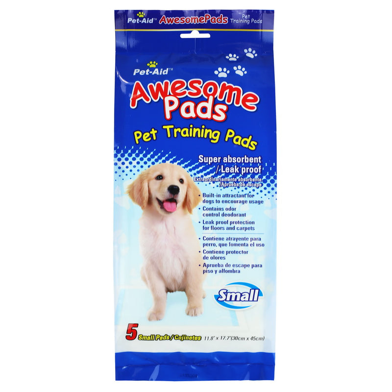 Pet-Aid Pet Training Pads-Small, 5ct (Compare to Wee Wee pads)