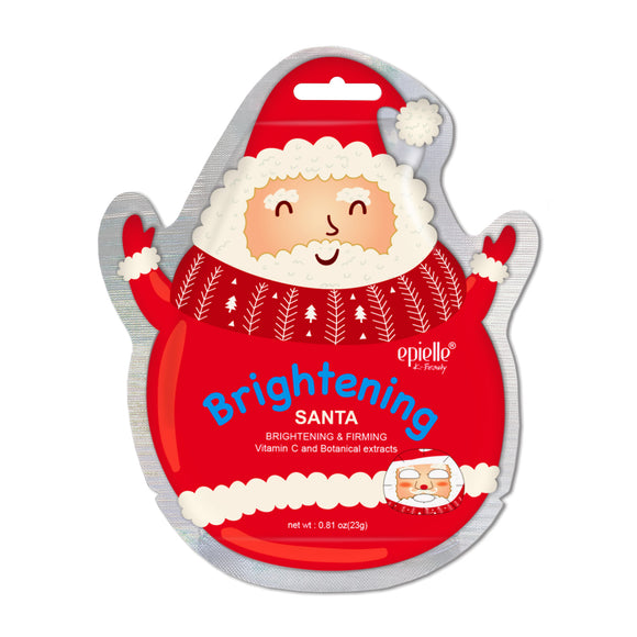 epielle®Brightening Santa Character Mask, 1ct