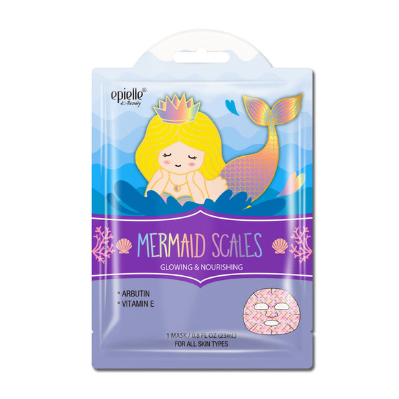 epielle®Marine Mermaid Scales Character Mask, 1ct