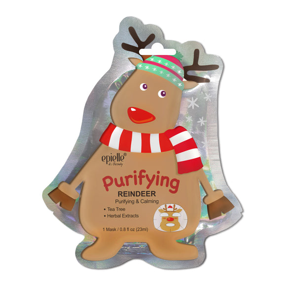 epielle®Purifying Reindeer Character Mask, 1ct