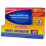 Pure-Aid Triple Antibiotic Pain Relief Ointment (Compare to Neosporin plus)