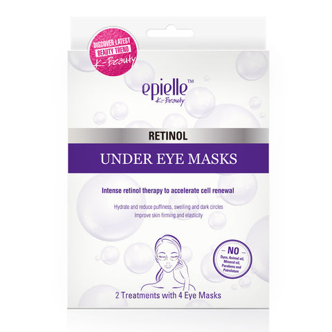 epielle®Assorted Hologram Peel-off Masks (4 in one package)