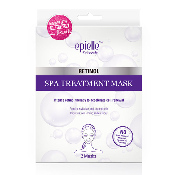 epielle®Retinol Spa Treatment Mask, 2ct