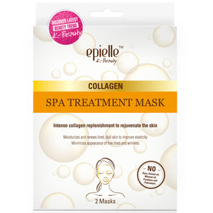 epielle®Collagen Spa Treatment Mask, 2ct