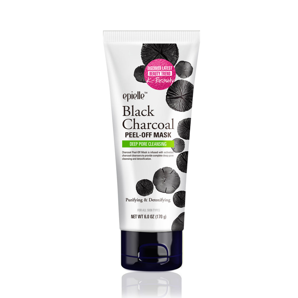 epielle®Black Charcoal Peel-Off Mask, 6oz