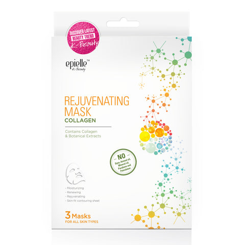 epielle®Marine Mermaid Scales Mask, 1ct
