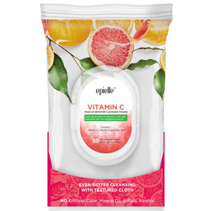 epielle®Vitamin C Make-Up Remover Cleansing Tissues, 60ct