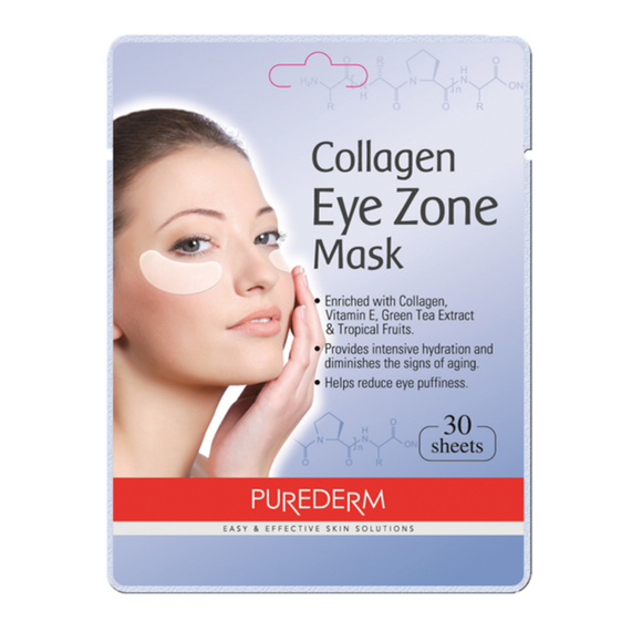 Purederm - Collagen Under Eye Mask, 30ct