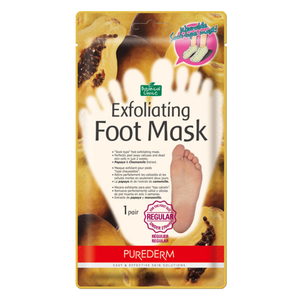 Purederm - Exfoliating Foot Peel Mask, 1ct