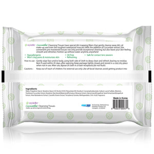 epielle®Cucumber Facial Cleansing Tissues, 30ct