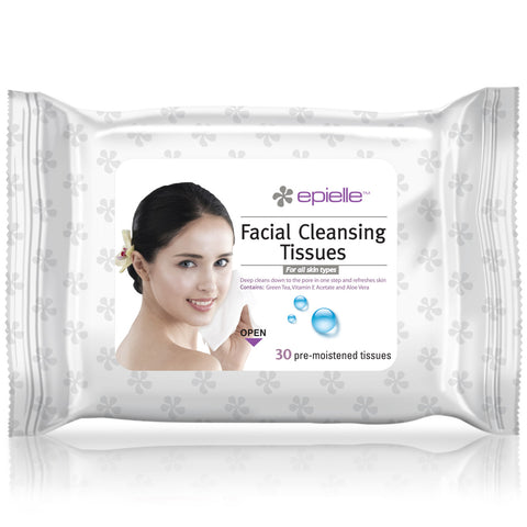 epielle®Cucumber Facial Cleansing Tissues, 60ct
