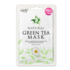 Natural Green Tea Mask, 1ct