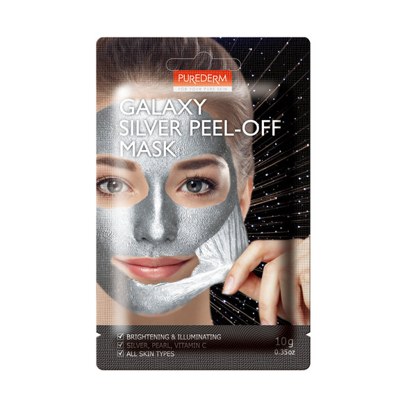 Purederm Galaxy Sliver Peel-Off Mask, 1ct 0.35oz