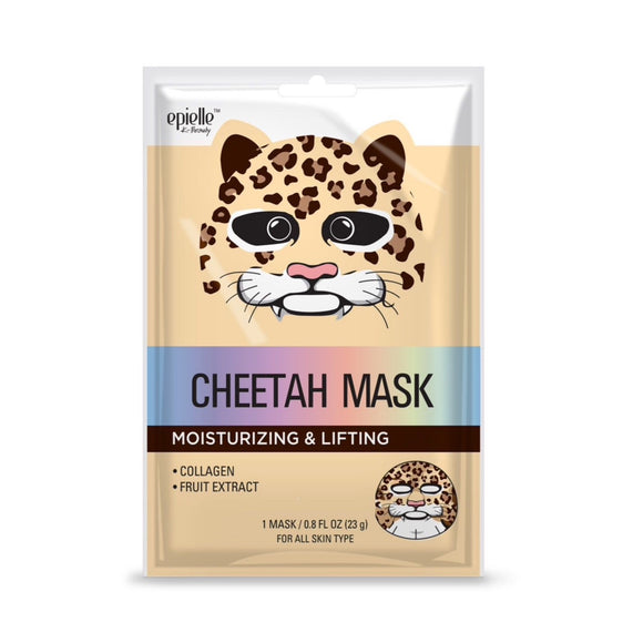 epielle®Cheetah Character Mask, 1ct