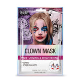 Halloween Clown Character Facial Sheet Mask