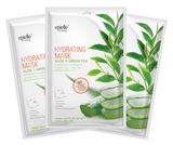epielle®Aloe & Green Tea Hydrating Mask, 3ct