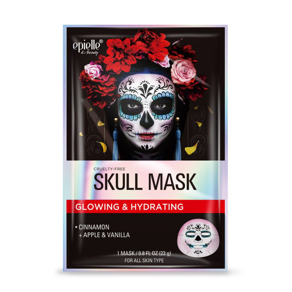 epielle Halloween Skull Character Facial Sheet Mask