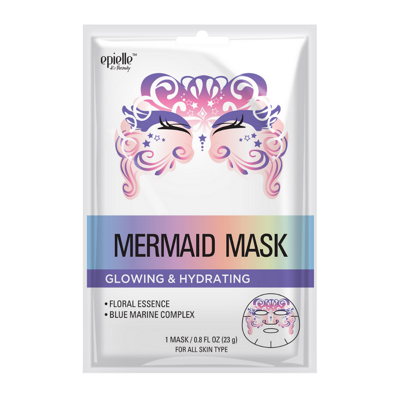 epielle®Mermaid Character Mask, 1ct