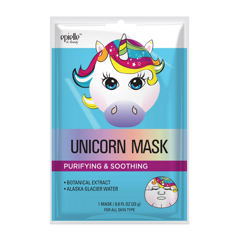 epielle®Unicorn Character Mask, 1ct