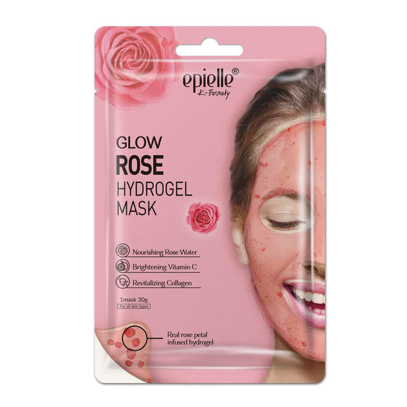 epielle® Glow Rose Petal Hydrogel Mask, 1ct