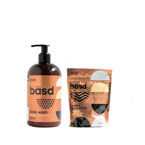 Body Scrub & Wash - Creme brulee Bundle