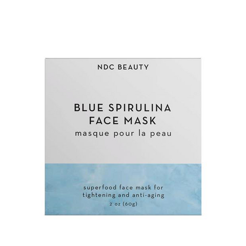 Blue Spirulina Face Mask