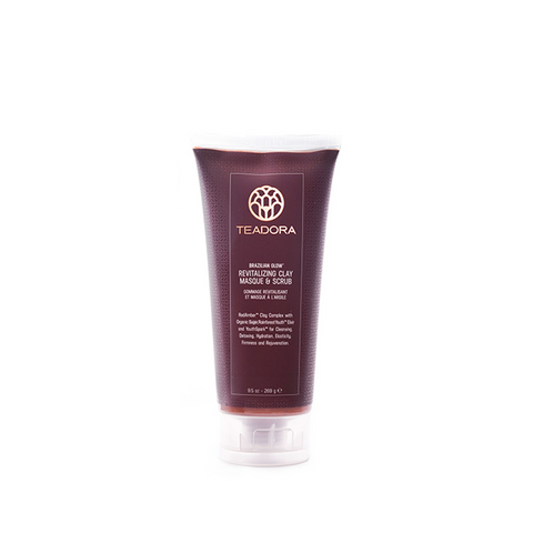 Brazilian Glow Rejuvenating Red Clay & Scrub Masque - Sugar
