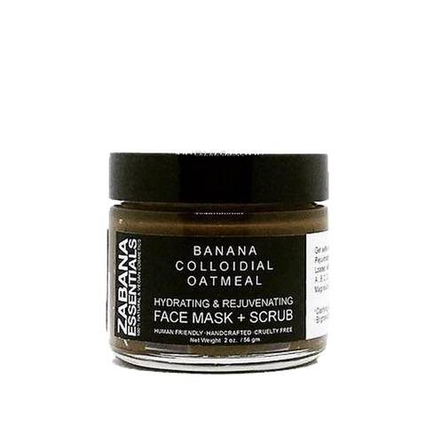 Face Mask & Scrub - Banana Colloidal Oatmeal