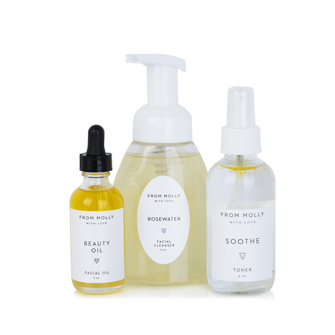 Travel Size Facial Skincare Set