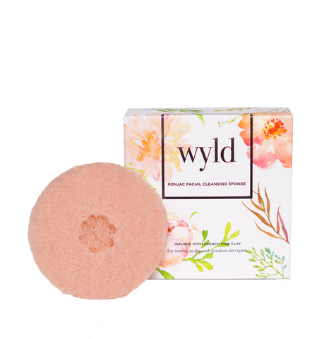 Konjac Sponge - French Pink Clay