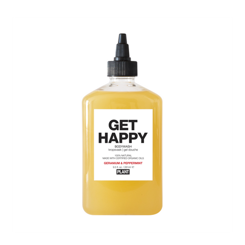 Get Happy - Organic Body Wash