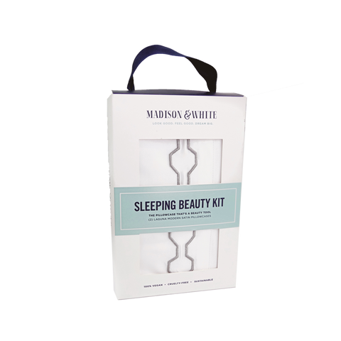 Sleeping Beauty Kit (Set of 2) - Organic Bamboo Pillowcases