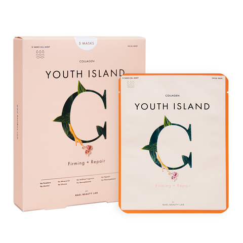 Collagen Youth Island Mask Pack