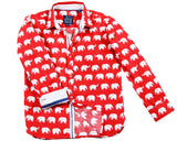 Erawan Elephants Red - Long Sleeve