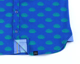 Hedgehogs in Blue- Short Sleeve