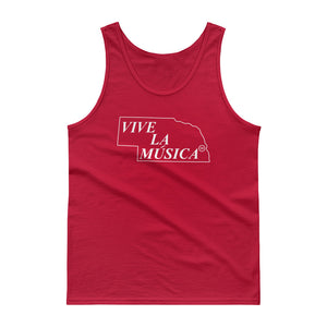 "Nebraska ""VIVE LA MUSICA"" Men's Tank Top"