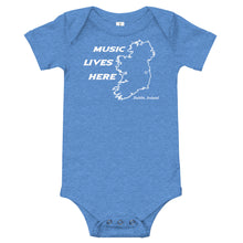 "Ireland ""MUSIC LIVES HERE"" Baby Onesie"