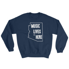 "Arizona ""MUSIC LIVES HERE"" Sweatshirt"