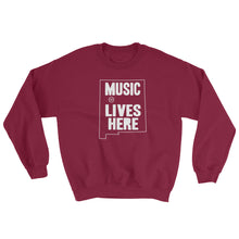 "New Mexico ""MUSIC LIVES HERE"" Sweatshirt"