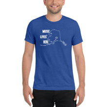"Alaska ""MUSIC LIVES HERE"" Men's Triblend T-Shirt"