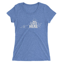 "Virginia ""MUSIC LIVES HERE"" Women's Triblend Tshirt"